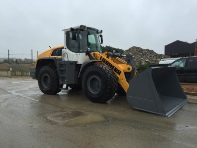 Chargeuse Liebherr 550